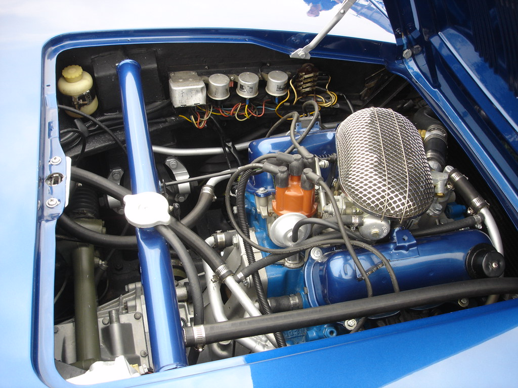 An Image Showing a Car Engine