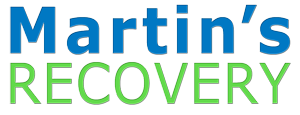 Martins Recovery Transport Services text logo